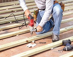 Genial How To Build A Deck Over A Concrete Patio