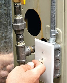 Before calling a furnace repairman, try a furnace reset.