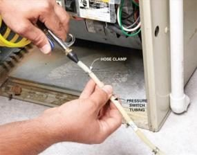 Whenever you perform a furnace repair, blow out the pressure switch tubing.