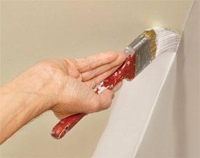 Cut-in ceilings first