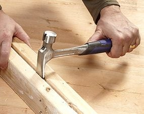 Hammers with rip claws can be used for prying, splitting, demolition and even digging.