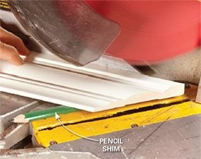 You can usually fix an open miter by cutting a back bevel.