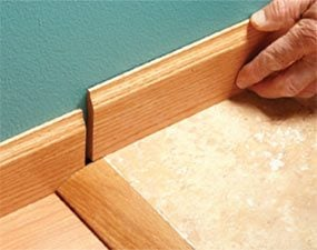 Floor height changes can create problems for a finish carpenter.