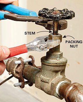 If the water won't shut off during a home emergency, a gate valve may be stuck open and need repair.