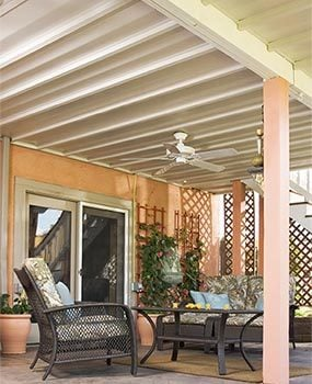 many types of manufactured under deck roofing systems are available online - Patio Under Deck