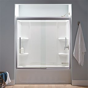 Acrylic Tub Shower Units. Sterling tub surround combo How to Buy a New Bathtub and Surround  The Family Handyman