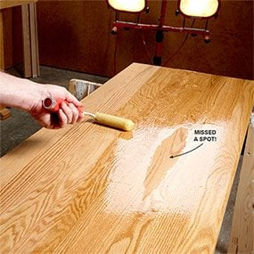 The Diy Guide To Finishing A Table Top Family Handyman