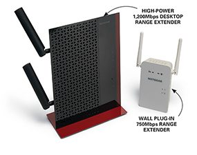 You can also make your wi-fi faster with a range extender.