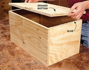 DIY Garage Storage Super Sturdy Drawers