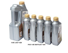 Recycling solves the problem of what to do with used motor oil.