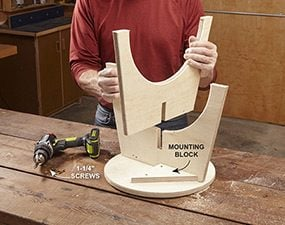 Assemble the stool