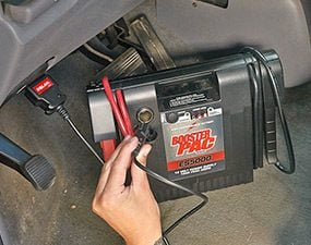 Connect your car's computers to backup power before changing a battery.