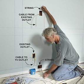 Include a new outlet in your built-in bookcase plans.