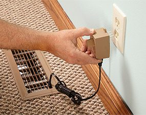 Install a fan speed controller if you would like to adjust the speed of the duct booster fan.