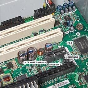 Identify a PCI-E slot