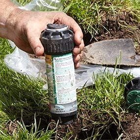 Replacing Broken Lawn Sprinkler Heads