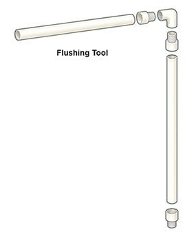 Build a flushing tool