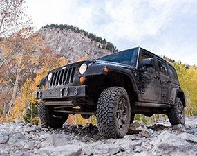 Buy tires for the harshest conditions