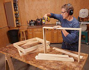 Build four frames