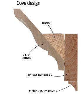 Cove design