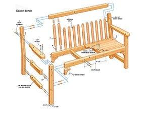 Figure A: Garden Bench