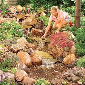 Create a Creek Bed