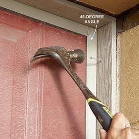 Test-fit the doorstop