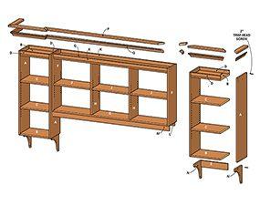 Figure A: Showcase shelving