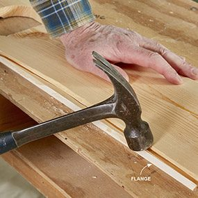 how to install a tongue and groove ceiling | family handyman