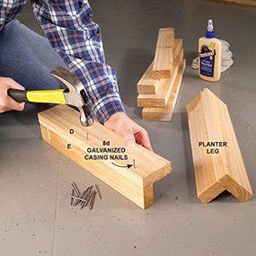 Assemble the legs