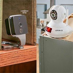 Surveillance Cameras: ially wireless