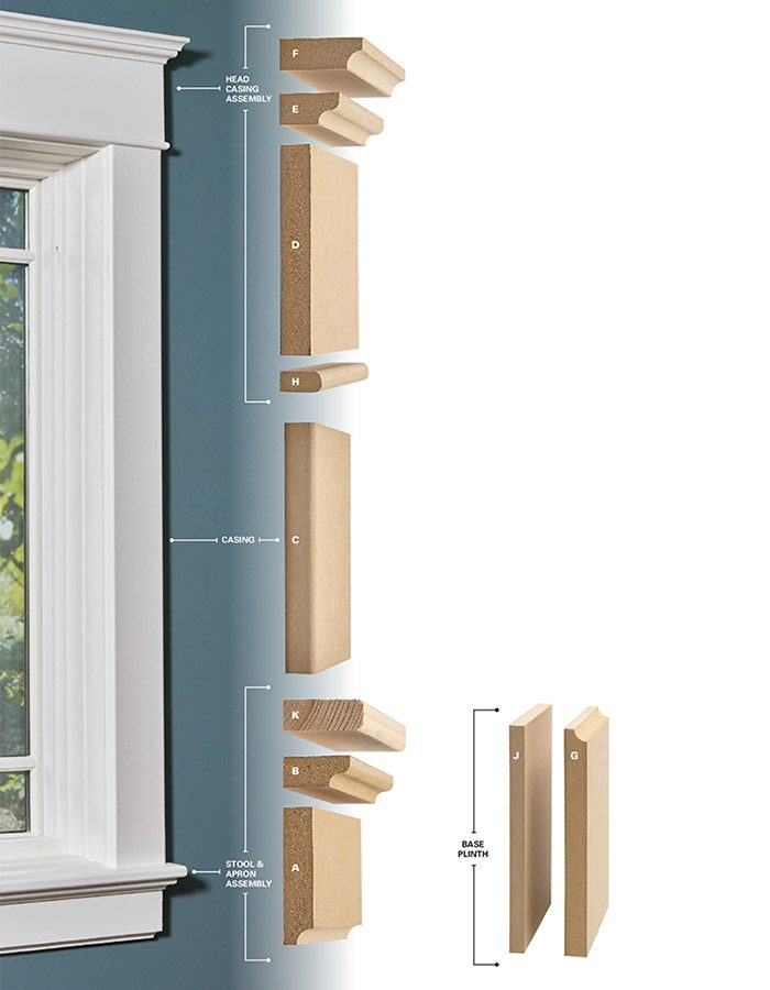 installing window trim the easy way mdf trim molding the family handyman