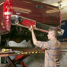 Install the bumper