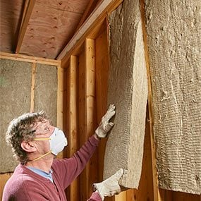 Mineral wool insulation is making a comeback here 39 s why for Wool wall insulation