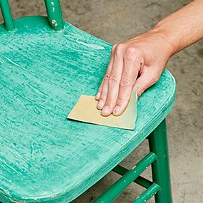 Don't bother stripping furniture you plan to paint