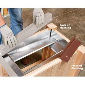 Install the inner heat shield