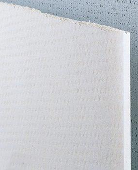 Fiber cement board tile backer board
