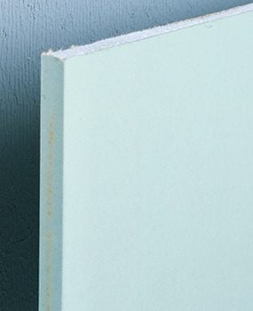 Water-resistant drywall tile backer board