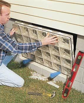 Second, install the block window