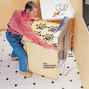 How To Install A Gas Stove Without Dangerous Leaks