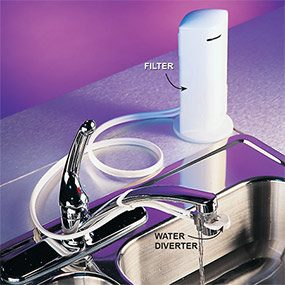 Countertop filters are another option when you're looking for the best water filter.