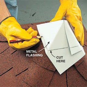 Photo 11: Cap the roof with flashing