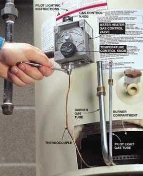 No Hot Water? Restore It Yourself