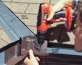 Photo 1: Drill rivet holes