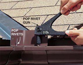 Photo 3: Fasten the rivet