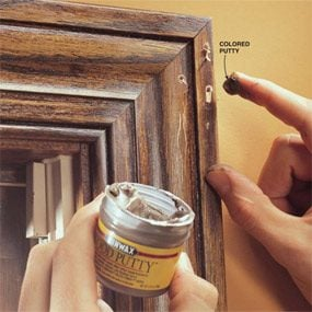 How to Fill Holes in Woodwork