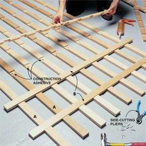 Latticework Porch Trellis