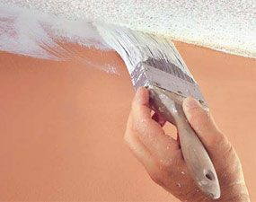 Photo 9: Paint the ceiling edge
