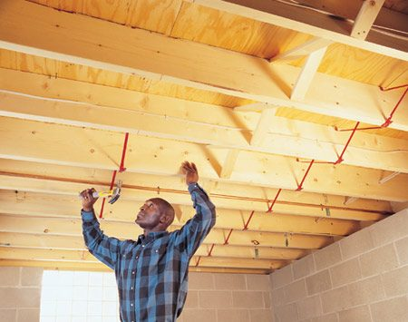 Fixing bouncy floors the family handyman Floor trusses vs floor joists