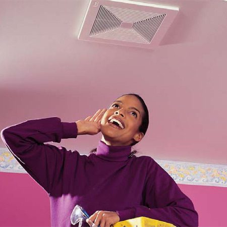 Shopping for a Quiet Fan. How to Install a Bathroom Fan   The Family Handyman